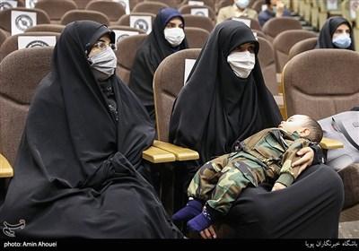همسر شهید حمیدرضا باب الخانی