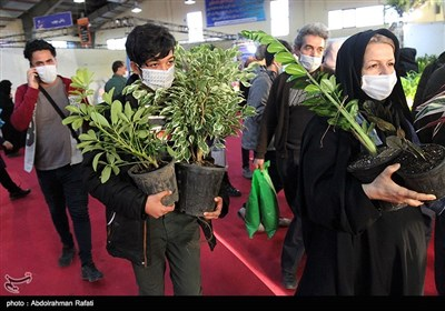 بیستمین نمایشگاه گل و گیاه در همدان