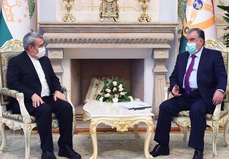 Iranian Minister, Tajik Leader Discuss Regional Security