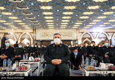 مراسم افتتاح پروژههای عمرانی فرماندهی تهران بزرگ