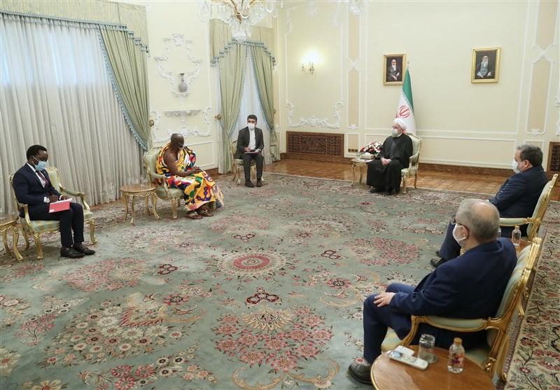 President Urges Development of Iran's Ties with Senegal, Ghana