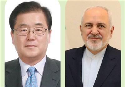 Iran's Zarif, South Korean FM Discuss Bilateral Ties