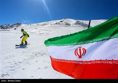 مسابقات قهرمانی اسکی در فریدونشهر اصفهان