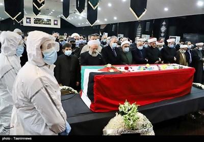 مراسم تشییع و خاکسپاری انیس نقاش