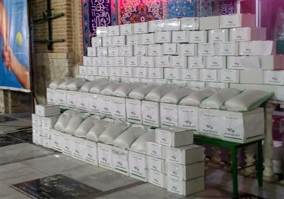 فرزندان شهدا به یاری نیازمندان آمدند؛ توزیع 110 بسته معیشتی در بین نیازمندان+ تصویر