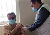واکسیناسیون کرونای کادر درمان بیمارستان رباط کریم آغاز شد