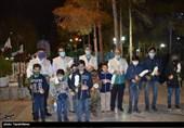 روایت تصویری گرامیداشت روز پدر توسط فرزندان شهدای مدافع حرم در گلستان شهدای اصفهان