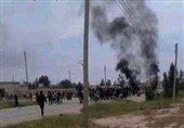 Syrians Protest against US-Backed QSD Militia in Raqqa Countryside