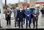 تجدید میثاق رئیس دفتر رئیس جمهور با شهدای اصفهان به روایت تصویر