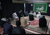 """محفل دانشآموزی """"وداع با شهیدگمنام"""" در اراک به روایت تصویر"""