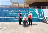 زهرا نعمتی در مسابقات پاراتیراندازی با کمان فزاع امارات نایب قهرمان شد