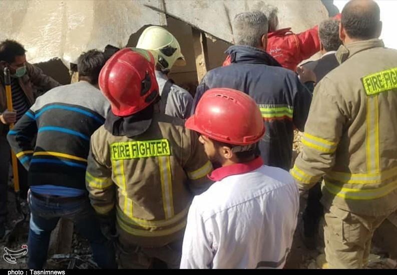 انفجار گاز در پاکدشت حادثهآفرین شد / تخریب 3 خانه و جان باختن یک نفر