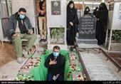آماده سازی قبر نمادین شهید مدافع حرم اسماعیل عزیزانی