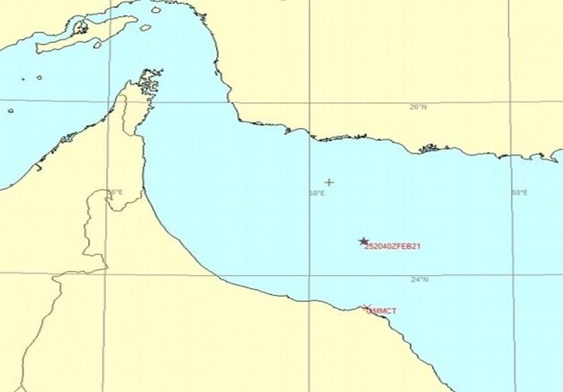 انفجار در یک کشتی تحت مالکیت رژیم صهیونیستی هنگام عبور از دریای عمان