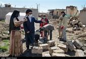 کمک 4.5 میلیارد تومانی مردم به زلزلهزدگان سیسخت از طریق هلال احمر