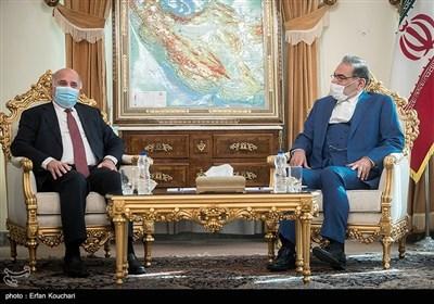 دیدار فؤاد حسین وزیر خارجه عراق با علی شمخانی دبیر شورای عالی امنیت ملی