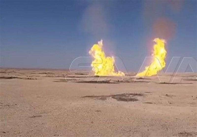 النفط السوریة: تعرض خط غاز الجبسة-الریان لاعتداء بریف دیر الزور