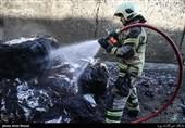 جزئیات جدید از آتشسوزی شهرک صنعتی لیا در قزوین / حریق در شرکت تاژ نبوده است