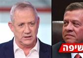 صحیفة تکشف عن لقاء سری بین وزیر الحرب الإسرائیلی وملک الأردن
