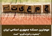 """فیلم// مهمترین مسئله جمهوری اسلامی ایران """"جمعیت و فرزندآوری"""" است"""