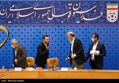 شهابالدین عزیزی خادم رئیس جدید فدراسیون فوتبال