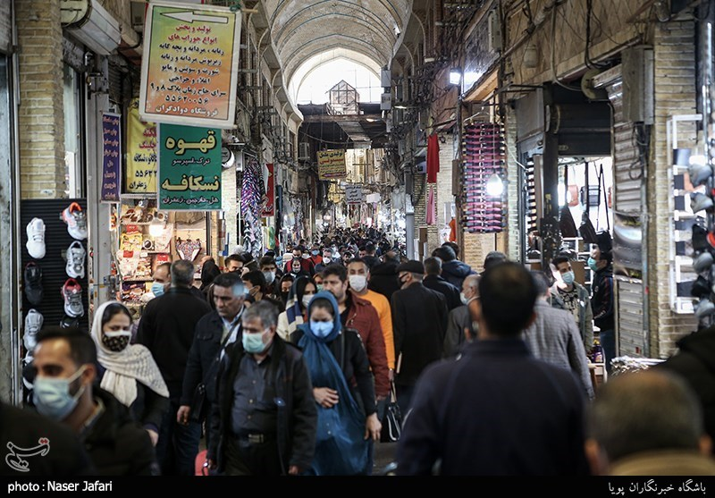 Tehran's Grand Bazaar Closed Following Sharp Rise in COVID-19 Infections