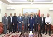 دیدار اسماعیل هنیه با سفیر ایران در دوحه درباره تحولات فلسطین