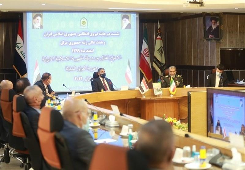 مشاور امنیتی وزیر کشور عراق: پیشرفتهایپلیس ایران چشمگیر و قابل تحسین است