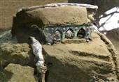 کشف یک ارابه باستانی در شهر سوخته + تصاویر