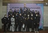قهرمانی پلیمر خلیج فارس در مسابقات دوومیدانی داخل سالن بانوان