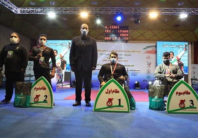 پاراوزنهبرداری قهرمانی کشور| نفرات برتر دستههای 49، 54 و 59 کیلوگرم معرفی شدند
