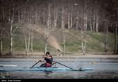 تمدید اردوی تیم ملی آبهای آرام در دریاچه آزادی و بندرانزلی