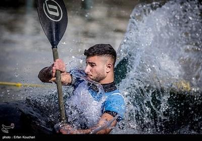 مسابقات فینال لیگ قایقرانی روئینگ و اسلالوم آقایان