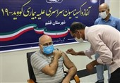 تزریق واکسن کرونا برای فعالان بهداشت و درمان و بیماران خاص در قشم