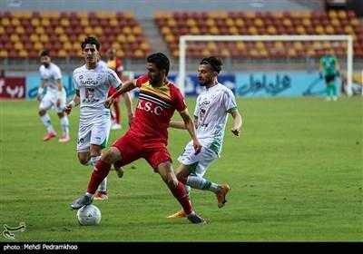 دیدار تیم های فوتبال فولاد خوزستان و ذوب آهن