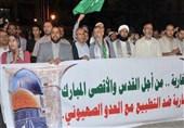 دولت بایدن هم مانند ترامپ از اشغال کرانه باختری حمایت کرد/ سرکوب تظاهرات حامیان فلسطین در مغرب