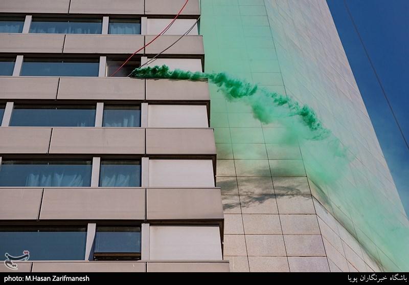 مانور عملیاتی آتش نشانی منطقه شمال تهران