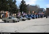 35سری جهیزیه توسط نیروی زمینی سپاه استان اردبیل توزیع شد