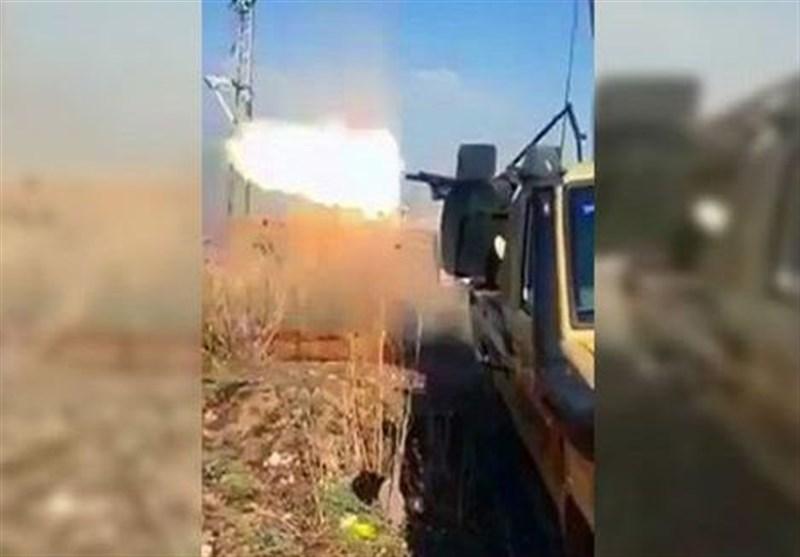 درگیری میان تروریستهای مزدور ترکیه در شهر راس العین سوریه