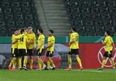 جام حذفی آلمان| صعود دورتموند به مرحله نیمه نهایی با حذف مونشنگلادباخ