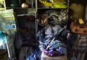 آتشسوزی جزئی در شیرخوارگاه آمنه+فیلم