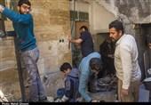 بازسازی منازل مناطق محروم قم توسط گروه جهادی شهید زین الدین+ تصاویر