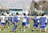 گزارش تمرین استقلال| درخواست غفوری از بازیکنان و دروازهبان شدن مهاجم تیم + تصاویر