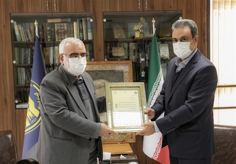 دیدار مدیرعامل بانک ملت با رییس کمیته امداد امام خمینی( ره) به مناسبت هفته نیکوکاری