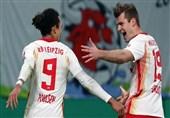 جام حذفی آلمان| لایپزیگ با غلبه بر ولفسبورگ به مرحله نیمه نهایی رسید