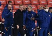 کومان: در شروع بازی بارسلونایی کُند و خسته را دیدم/ الکلاسیکو حالا از اهمیت بیشتری برخوردار است
