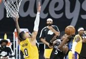 لیگ NBA| شکست سنگین برکلین مقابل لیکرز/ گلدن استیت از سد هیوستون گذشت