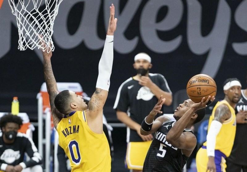 لیگ NBA| شکست لیکرز در غیاب ستارهها/ دالاس با درخشش بازیکنان غیر آمریکایی پیروز شد