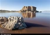 وسعت دریاچه ارومیه 20 کیلومترمربع کاهش یافت