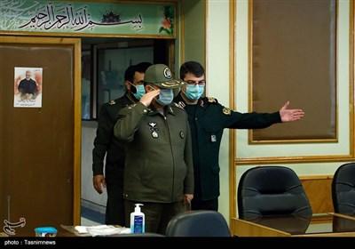 امیر سرتیپ شعبانیان معاون هماهنگ کننده وزیر دفاع در نشست خبری جشنواره جوان سرباز